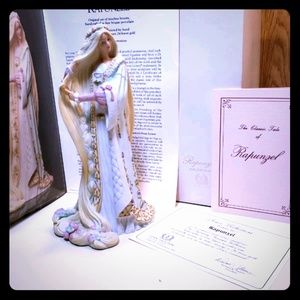 Lenox Porcelain Repunzel legendary princess doll